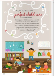 How to bag the perfect child care